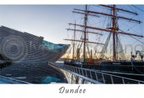 V&A Dundee & RRS Discovery Dundee Postcard (HA6)