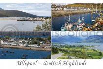 Ullapool Composite Postcard (H A6 LY)