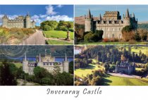 Inveraray Castle Composite Postcard (H A6 LY)