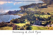 Inveraray & Loch Fyne Postcard (H A6 LY)