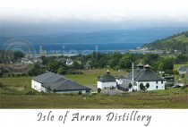 Isle of Arran Distillery Postcard (HA6)
