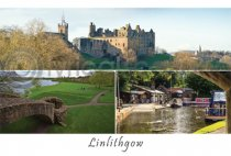 Linlithgow Composite Postcard (H A6 LY)