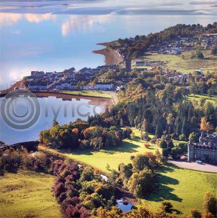 Inveraray Colour Photo Greetings Card