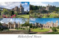 Abbotsford House Composite Postcard (H A6 LY) (Net 12p)