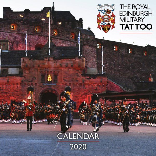 2020 Calendar Royal Edinburgh Military Tattoo (Mar)