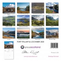 2020 Calendar Fort William & Lochaber (Mar)