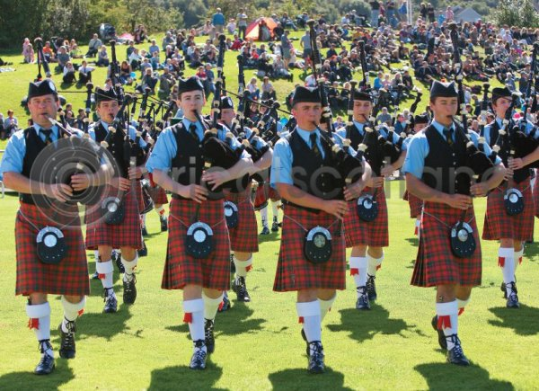 Highland Games Magnet (H LY)