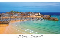 St Ives, Cornwall Postcard (H A6 Net)