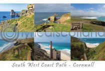 South West Coast Path, Cornwall Composite (H A6 LY)