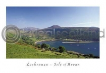 Lochranza From Newton Postcard (HA6)