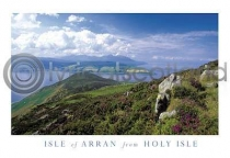 Claughlands From Holy Isle Postcard (H A6 LY)