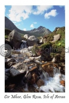 Rosaburn Waterfall - Cir Mhor Postcard (VA6)