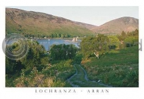 Lochranza Castle - Arran Postcard (HA6)