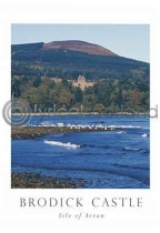 Brodick Castle Postcard (V A6 LY)