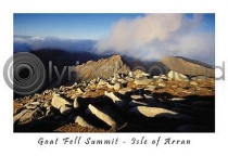 Goat Fell Summit Postcard (HA6)