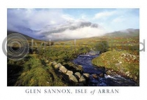 Glen Sannox - Isle of Arran Postcard (HA6)