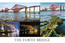 Forth Bridge Composite Postcard (H A6 LY)
