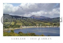 Lamlash - Isle of Arran Postcard (H A6 LY)