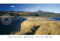 Rosa Water - Brodick - Isle of Arran Postcard (H A6 LY)
