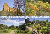 Brodick Castle Composite Postcard (HA6)