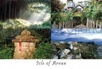 Isle of Arran Composite (2) Postcard (HA6)