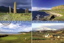 Blackwaterfoot Composite (2) Postcard (HA6)