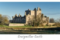 Craigmillar Castle, Edinburgh Postcard (V A6 LY)