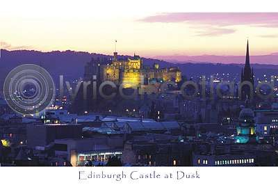 Edinburgh Castle at Dusk (HA6)