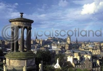 Edinburgh City From Calton Hill Postcard (HA6)