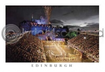 Edinburgh Military Tattoo Postcard (HA6)