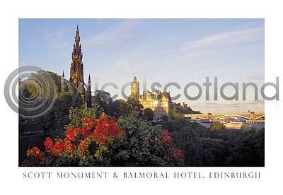 Scott Monument & Balmoral Hotel (HA6)
