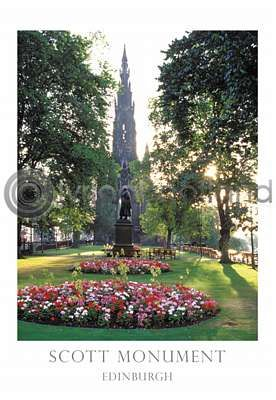 Scott Monument From Princes St Gardens (VA6)