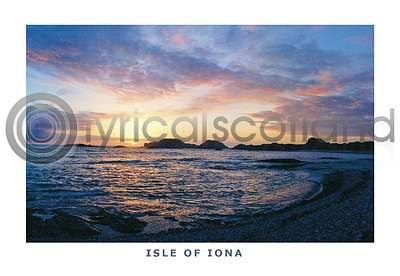 Iona, Sunset At Camus (HA6)