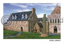 Iona Abbey Postcard (H A6 LY)