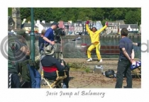 Josie Jump At Balamory Postcard (H A6 LY)