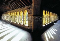 Cloisters, Iona Abbey Postcard (HA6)