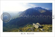 Ben Nevis From Mamores Postcard (H A6 LY)