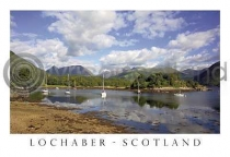 Bishops Bay, Isles Of Glencoe Postcard (H A6 LY)