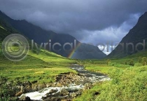 River Coe & Rainbow Postcard (H A6 LY)