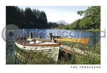 Loch Ard, At Milton Postcard (H A6 LY)