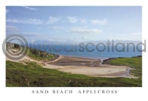 Beach By Applecross Postcard (H A6 LY)