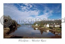 Plockton, Wester Ross Postcard (H A6 LY)