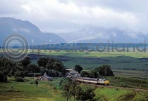 Rannoch Station Postcard (HA6)