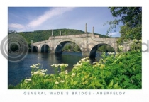 General Wade's Bridge, Aberfeldy Postcard (HA6)