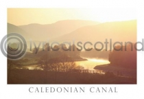 Caledonian Canal Postcard (H A6 LY)