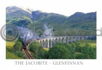 Jacobite - Glenfinnan - Full Steam Postcard (H A6 LY)