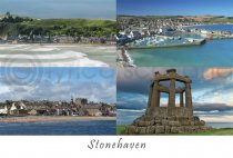 Stonehaven Composite Postcard (H A6 LY)