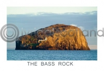Bass Rock Postcard (HA6)