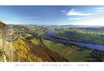 River Tay From Kinnoul Hill Postcard (H A6 LY)