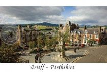 Crieff - the Square Postcard (HA6)